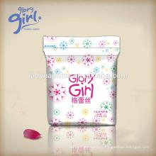 Serviette hygiénique unique de serviettes de conception unique de marque de fille de Glory