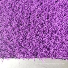Purple grass Artificial Best Synthetic Grass thick  grass artificial