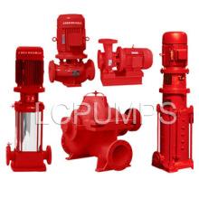 Pompe à eau de lutte contre l'incendie avec le certificat UL First China