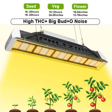 Waterpoof Phlizon LED Grow Light 240W Stock de EE. UU.