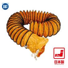 Flexibilidade de tubo flexível flexível de duto de PVC. Feito no Japão por National Marine Plastic (mangueira de ar condicionado portátil)