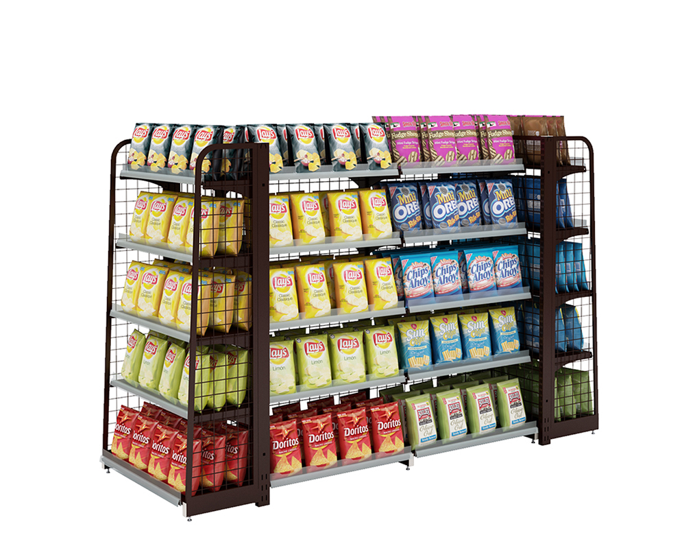 Steel Supermarket Rack