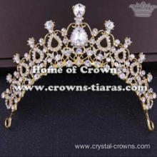 Crystal Wedding Princess Tiaras In Drop Diamonds