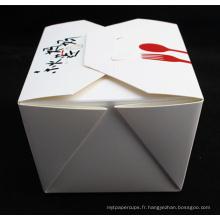 Usine acceptent les boîtes de nouilles imprimées par coutume