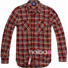 80S 100 cotton yarn dyed woven fabric wholesale for casual check shirt(printed pattern as customer needed) shirt fabric