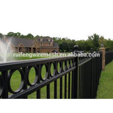 Clôture en acier ornementale de peinture de polyester de meilleur prix