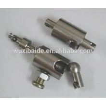 OEM precision cnc machining turnining milling 5/4/3 AXIS Aluminum/Steel/Brass parts