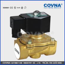 24V baja presión normalmente cerrada precio bajo válvula de solenoide de agua de 2 pulgadas