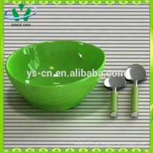 Conjunto de jantar de porcelana fina elegância com silicone, conjunto de 4