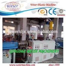 Plástico PP PE PVC PA corrugado maquinaria de planta de tuberías