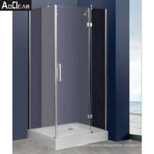 Aokeliay new design  cheap modern european popular corner shower doors for sale