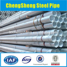 seamless carbon steel pipe, thick wall steel pipe, galvanized surface