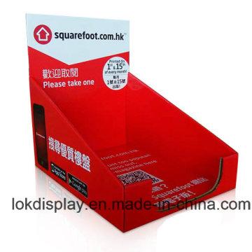 Magazines Countertop Display Unit, Paper PDQ Display Case