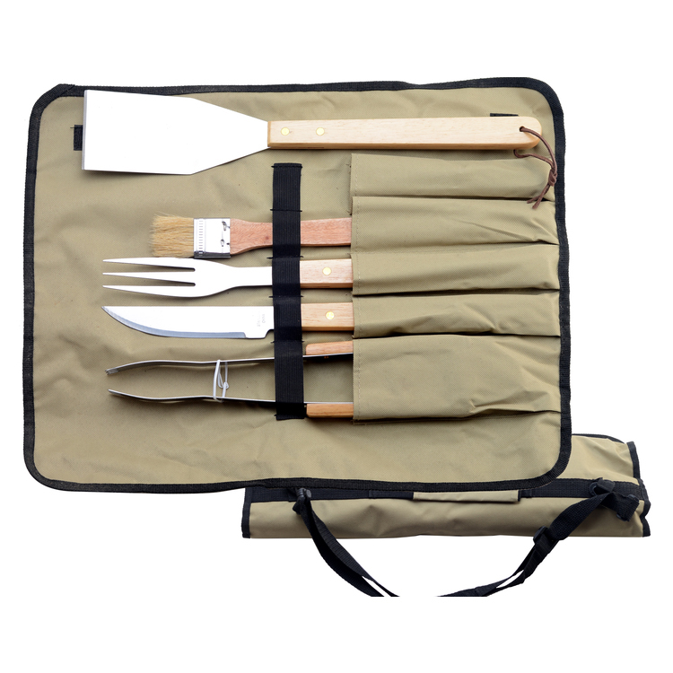 BBQ tool set with cloth bag1