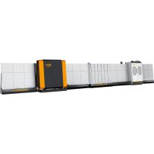 Вертикальная автоматическая машина для снятия фаски со стеклопакетом