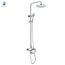 KE-05 best price high pressure water saving rain shower head, new design brass bathroom shower, bathroom accessory
