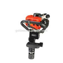 50mm 55mm 70mm beweglicher Benzin-Stapel-Antriebsmaschine Mini gasbetriebener manueller Pfosten-Fahrer