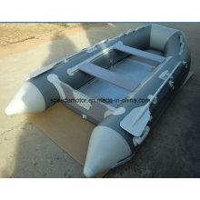 Ce PVC-Rumpf-Material Aufblasbares Motorboot