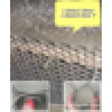 Fábrica de cemento forro refractario hexagonal