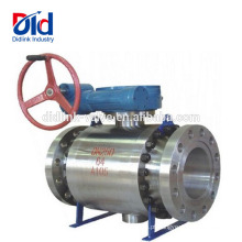 Válvula de esfera de alta pressão forjada de aço da dimensão A105 do porto cheio 10 2 Dimensão
