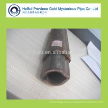 Tubo triangular de aço sem costura de alta qualidade e tubo de aço
