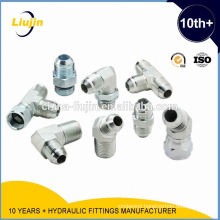 Advanced Germany machines factory supply 37 flared tube connector sae j514 jic 37 deg flare tube fitting