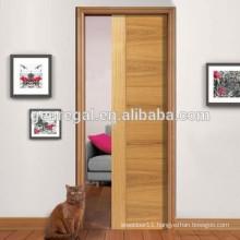 Wooden interior sliding doors