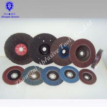 Corundum Abrasive and Dish Shape flap disc