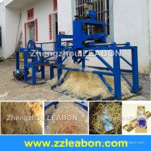Nueva máquina de diseño de madera para hacer lana