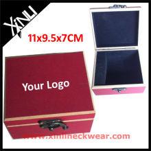 La mejor caja de madera de madera de la corbata de la calidad