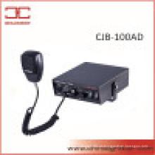 Sirene Eletrônica de 100 W com Microfone (CJB-100AD)