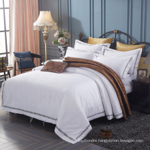 Cheap White Organic Cotton Hotel Bed Clothes