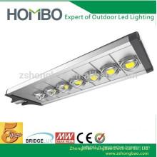 Luminaires haute lumière de 280 watts lumineux Projet de route de rue IP65 Lampes de rue LED BridgeLux Lampe de route à LED de 120 Lm / w