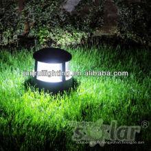 CE & brevet LED pilier lampe solaire, lampe solaire de pilier