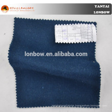 Woolen navy blue wool cashmere coat fabric for winter season