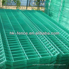 Green Powder Coated Welded Wire Mesh Fence