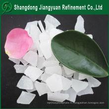Fabrication Haute pureté Utilisation industrielle Traitement de l'eau Flocon polyammonique Sulfate d'aluminium