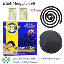 Precio barato de alta calidad de fibra de la planta Mosquito Bobina de mosquito negro de la bobina