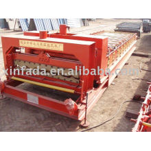 1070 Glazed Tile Roll Forming Machine,Step Tile Forming Machine