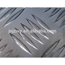 Embosser les bobines d'aluminium avec 5 grosses barres anti-glissement