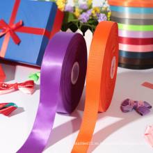 Los regalos de la venta de la fábrica que embalan la cinta / cinta del satén con descuento grande