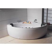 White Acrylic Sanitary Whirlpool Massage Bathtub (M-03)