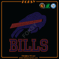 Buffalo Bills strykjärn på rhinestone design