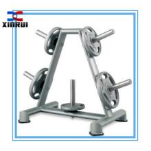 suporte comercial da placa do peso da máquina do gym