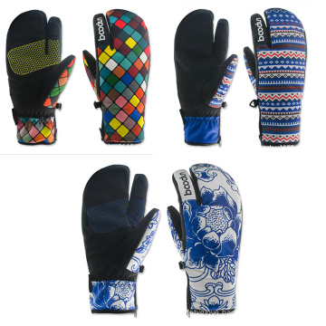 Good Material Thermal Windproof Ski Gloves