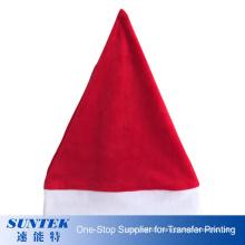 Wholesale Good Quality Christmas Santa Hat Personality Christmas Gift Printable Sublimation Christmas Hat