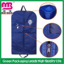 Saco de Embalagem personalizado para Homens Ternos Fornecimento Não Tecido de Algodão Garment Cover Suit Bag