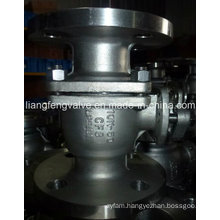2PC Flange End Ball Valve 10k with Stainless Steel