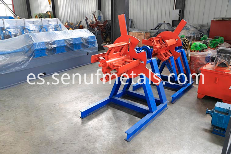 3 tons manual decoiler