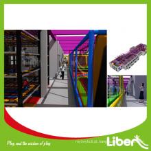 ASTM trampolim bungee comercial com dodgeball para crianças parque de diversões